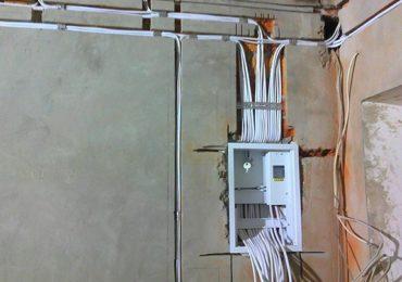 Монтаж новой электропроводки