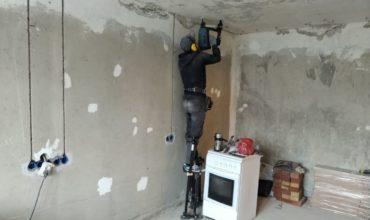Замена электропроводки в квартире в микрорайоне Слип