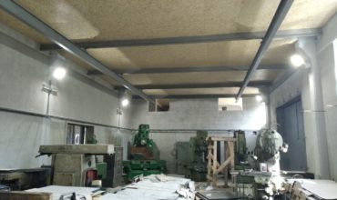 Электромонтажные работы в здании цеха в районе Полиграф