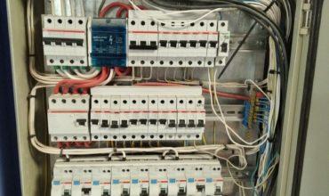 Монтаж электропроводки в частном доме в деревне Конюшино